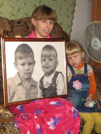 Вышивание портретов крестиком по фотографии