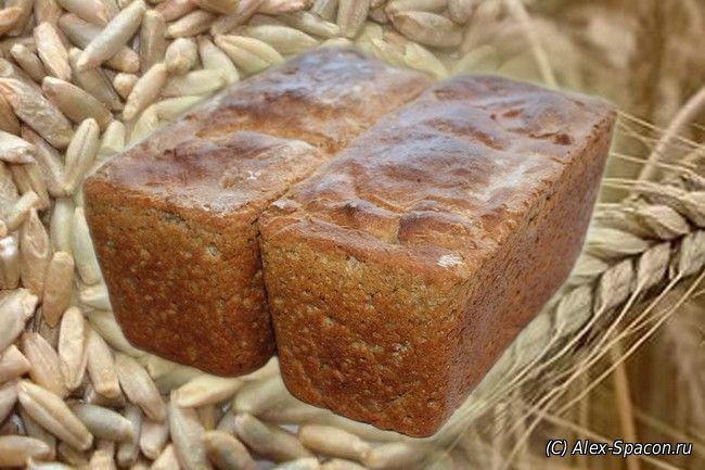 Хлеб из чисто ржаной муки