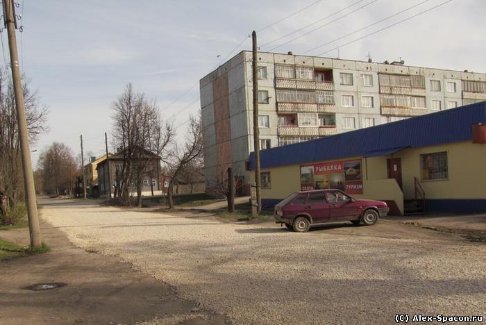 Сайт Рыжакова О.И. (Alex Spacon). Город Советск Кировской области.